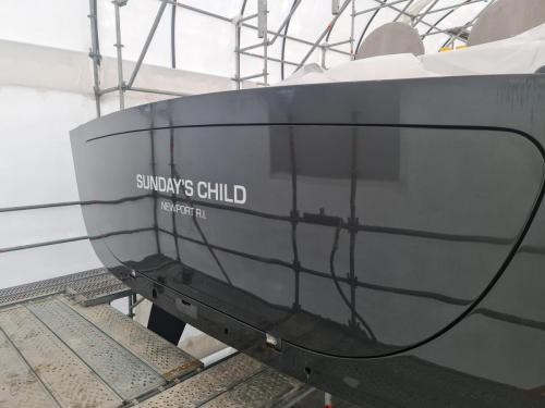Restauración y Refit de Sunday's Child